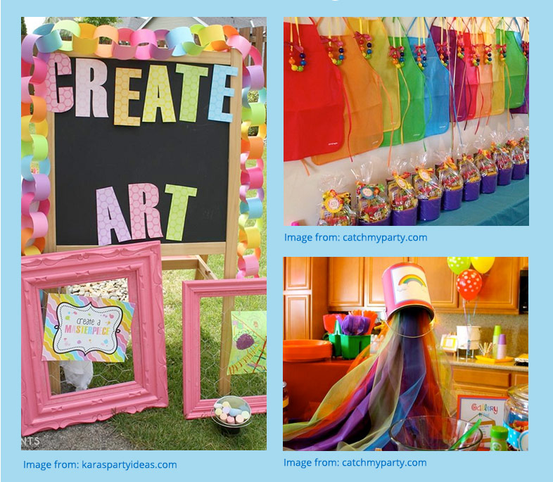 Arts And Crafts Birthday Party Ideas Ladies Home Crafting