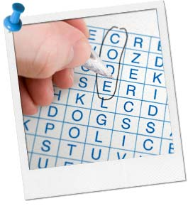Spy Word Search