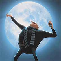 Gru Steal The Moon