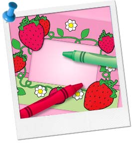 Strawberry Shortcake Photo Frame