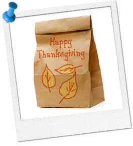 Photo of Thanksgiving Paper Bag
