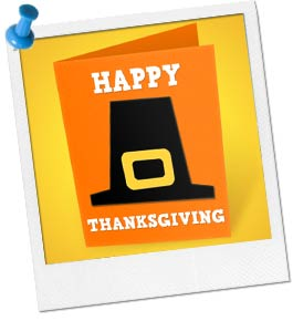 Image of a Thanksgiving Card