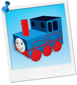 Thomas Party Shoebox Craft