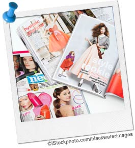 Fashion Magazine Scavenger Hunt